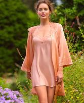 LA CLOVER兰卡文蜜糖琥珀系列蕾丝吊裙LC44LW1