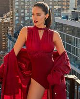 LA CLOVER秘密宴会系列连体礼服式泳衣特别款LC68HY2