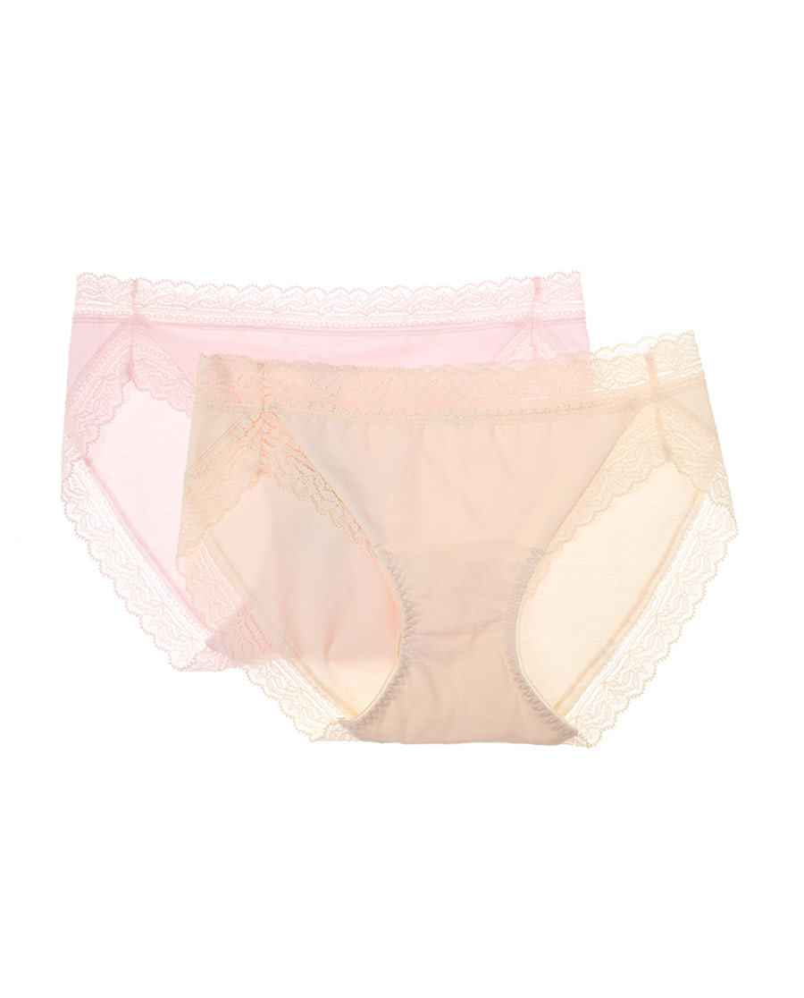 Aimer內褲|愛慕(2件包)美棉低腰三角褲AM2240