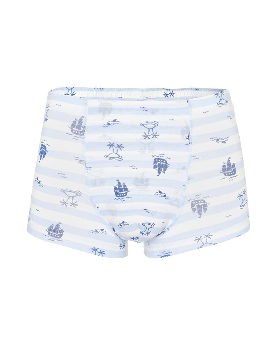 Aimer Junior內褲|愛慕少年2件裝 海盜船中腰平角褲兩件包A