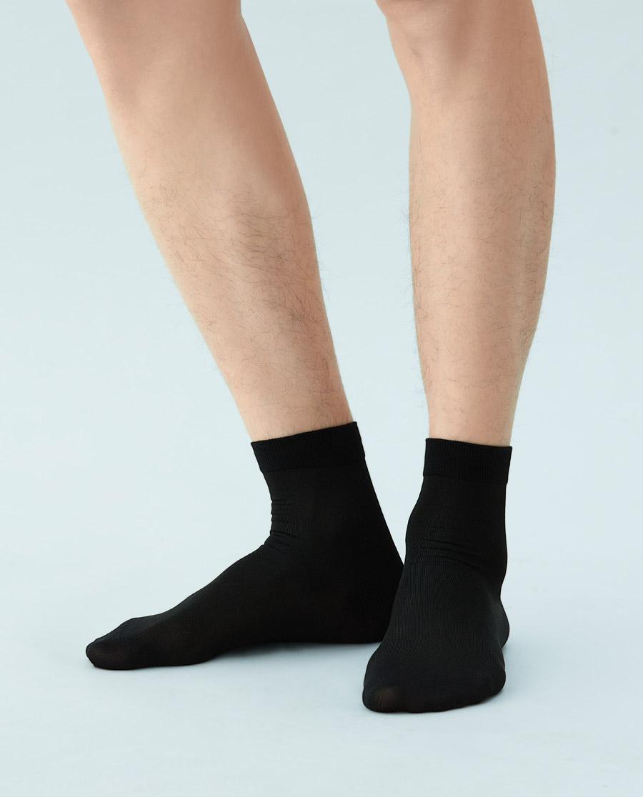 JOURVA襪子|足哇絲滑夏日桑蠶絲紳士襪JV211060