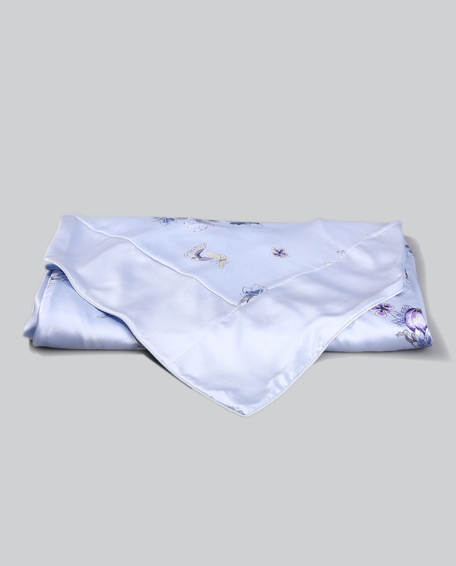EMPERORIENT配飾|皇錦印花蠶絲被套-瓜蝶連綿HJ11474