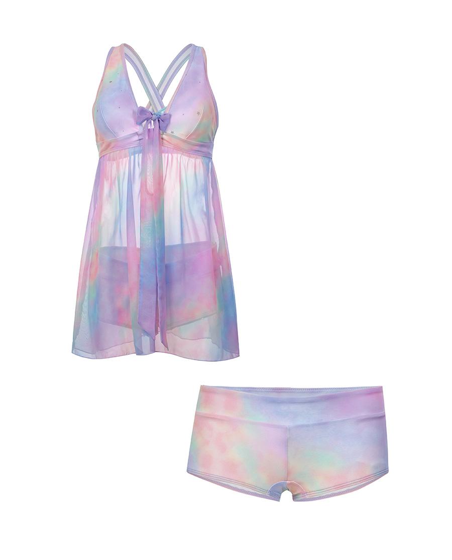 IMIS泳衣|愛美麗泳衣幻彩海洋 分身兩件套泳衣IM6