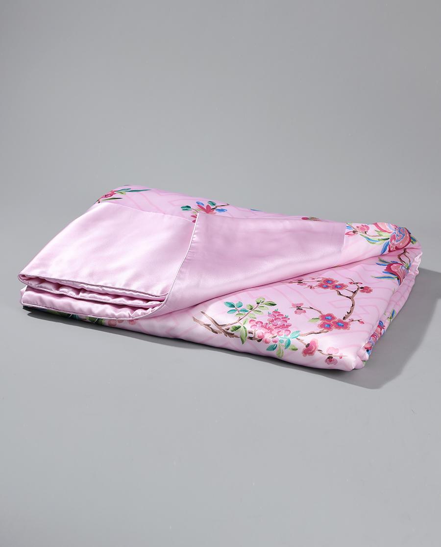 EMPERORIENT配飾|皇錦印花蠶絲被-至善秀美HJ11358