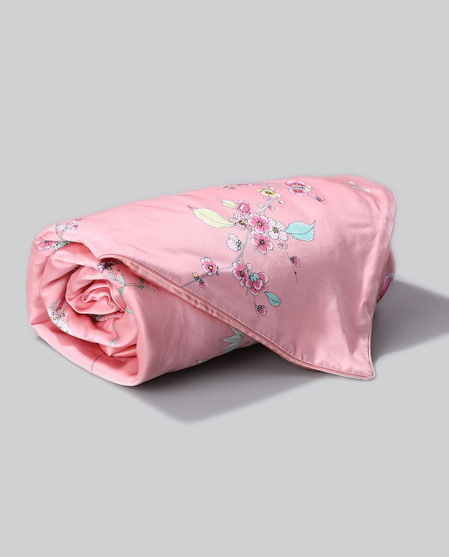 EMPERORIENT配飾|皇錦真絲印花小被-滿庭芳HJ11479