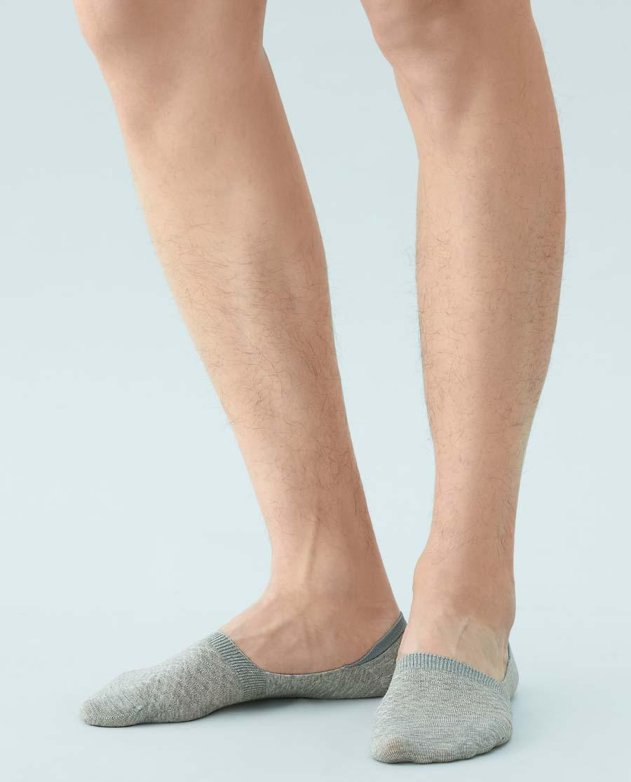 JOURVA襪子|足哇棉質羅紋淺口男士船襪JV211071