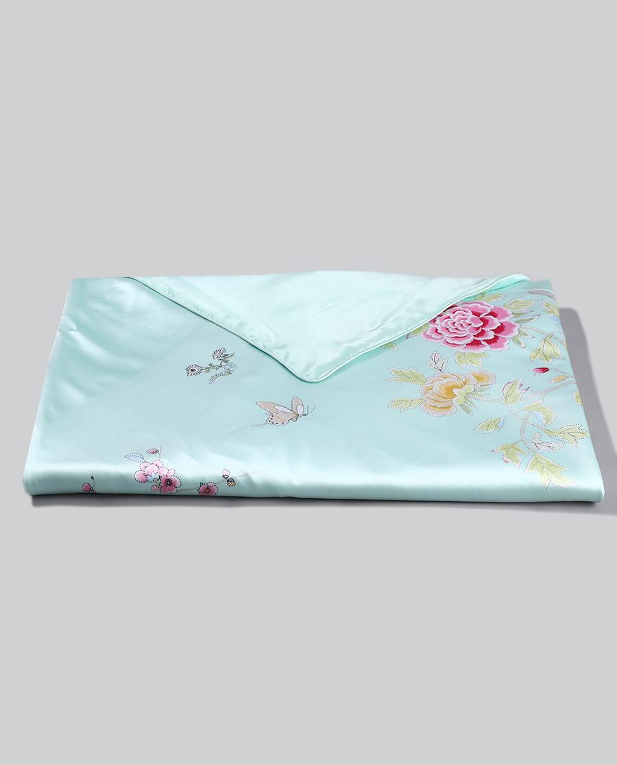 EMPERORIENT配飾|皇錦印花蠶絲被套-滿庭芳HJ11339