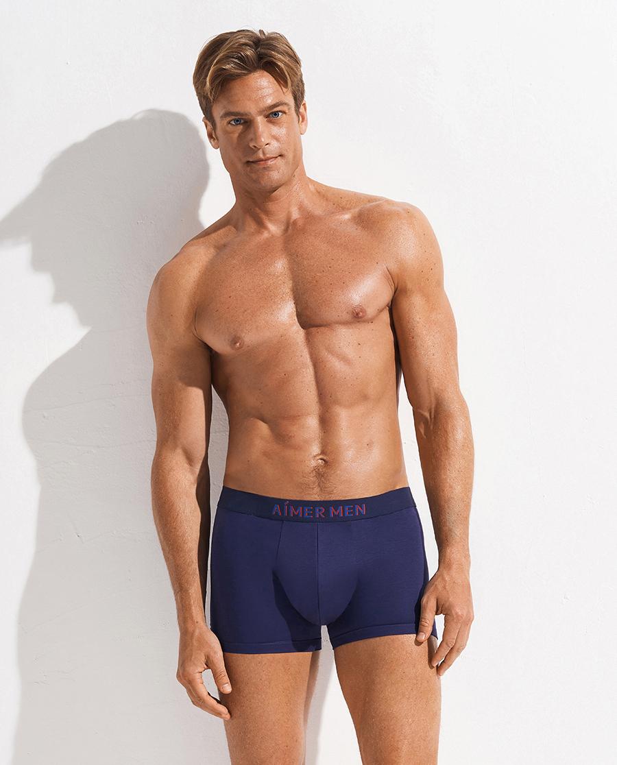 Aimer Men內褲|愛慕先生20SS像素風在線特供裝腰平角褲