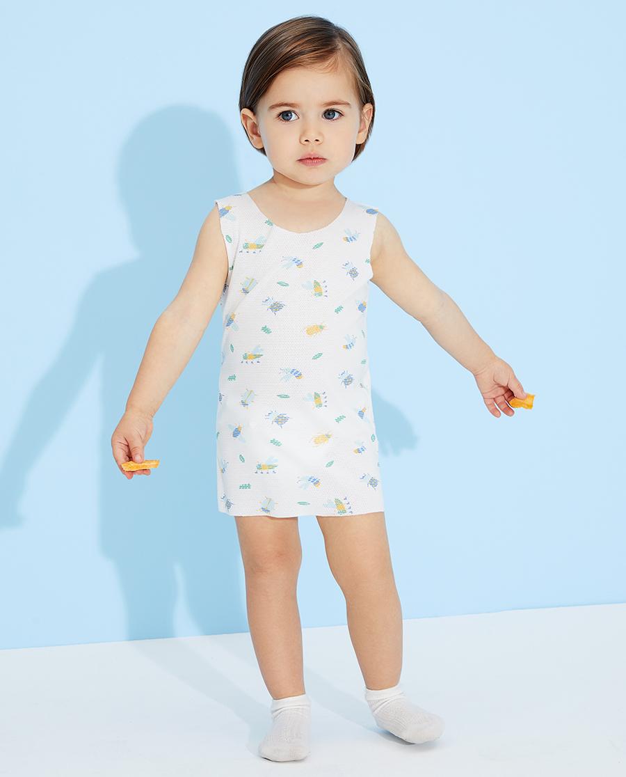 Aimer Baby睡衣|愛慕嬰兒小昆蟲男嬰幼滿印長背心AB211