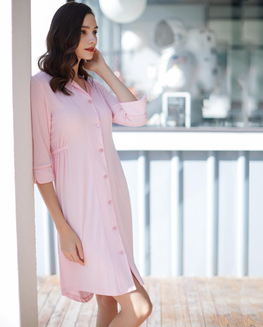 La Clover睡衣|LA CLOVER蘭卡文棉棉夏日系列七分