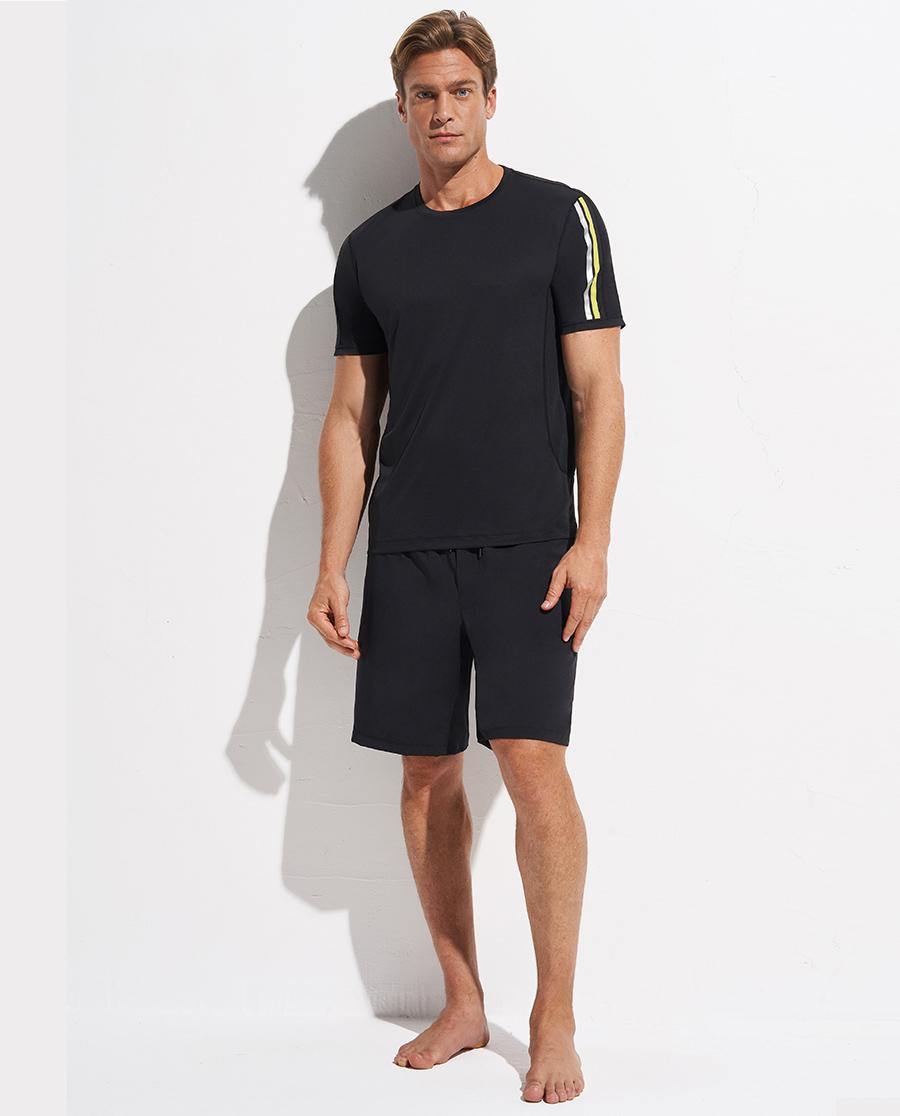 Aimer Men運動裝|愛慕先生運動慢跑系列圓領短袖NS62D5