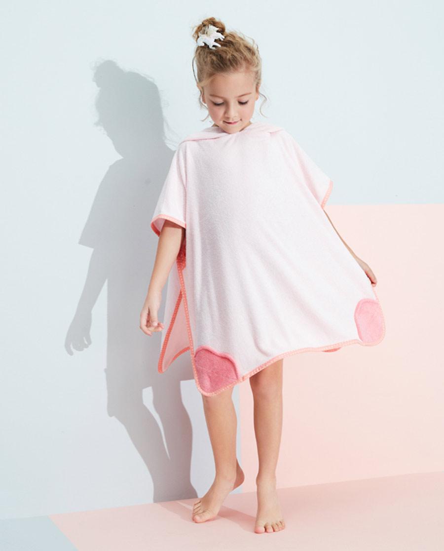 Aimer Kids睡衣|愛慕兒童俏皮小萌怪女孩卡通獨角獸浴袍AK