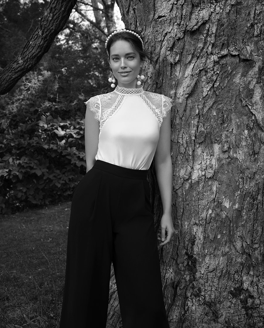 La Clover睡衣|LA CLOVER蘭卡文愛莎系列短袖上衣