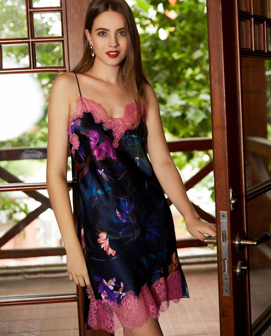 LUNA DI SETA睡衣|Luna di seta花樣年華系列吊裙