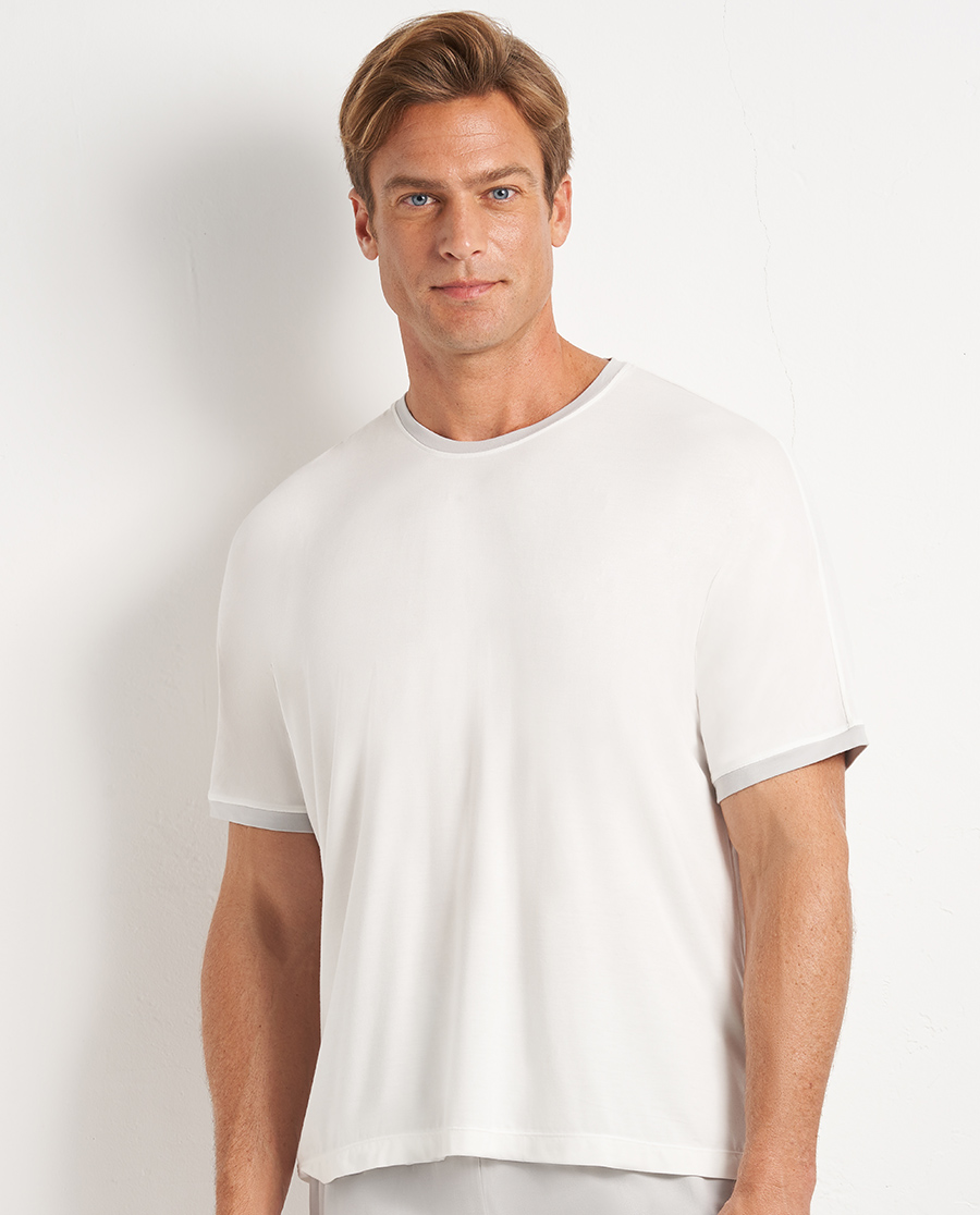 Aimer Men睡衣|愛慕先生20SS靜享夏日圓領短袖NS41