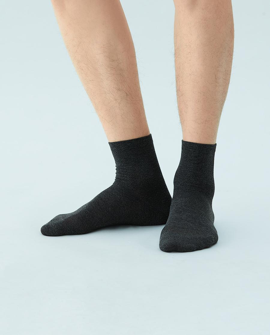 JOURVA襪子|足哇高端商務艾維真絲直角男襪JV2110