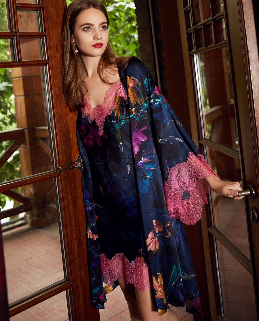 LUNA DI SETA睡衣|Luna di seta花樣年華系列睡袍