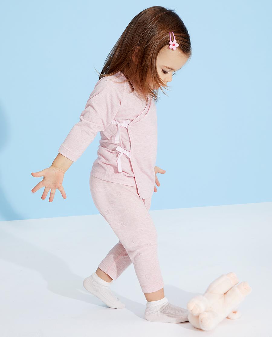 Aimer Baby睡衣|爱慕婴儿植物凉爽女婴幼大屁屁睡裤AB14