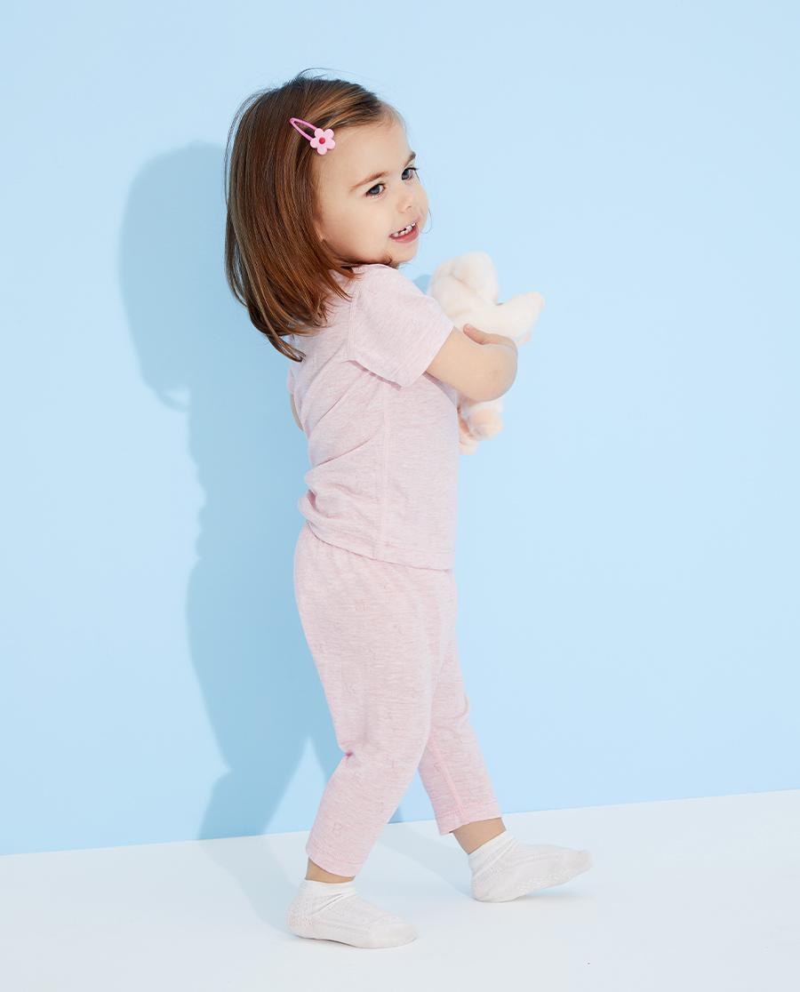 Aimer Baby睡衣|愛慕嬰兒植物涼爽七分大屁屁睡褲AB142