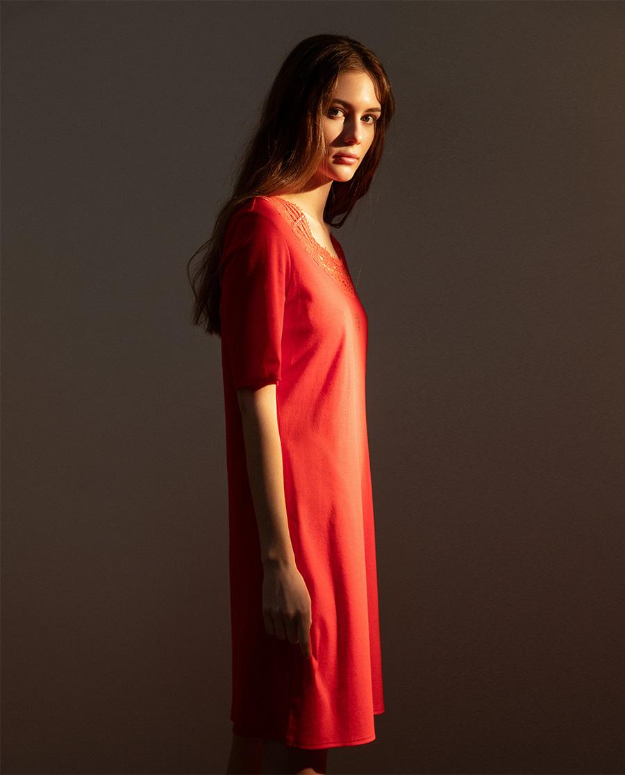 FERAUD睡衣 Feraud水月镜花系列短袖睡裙