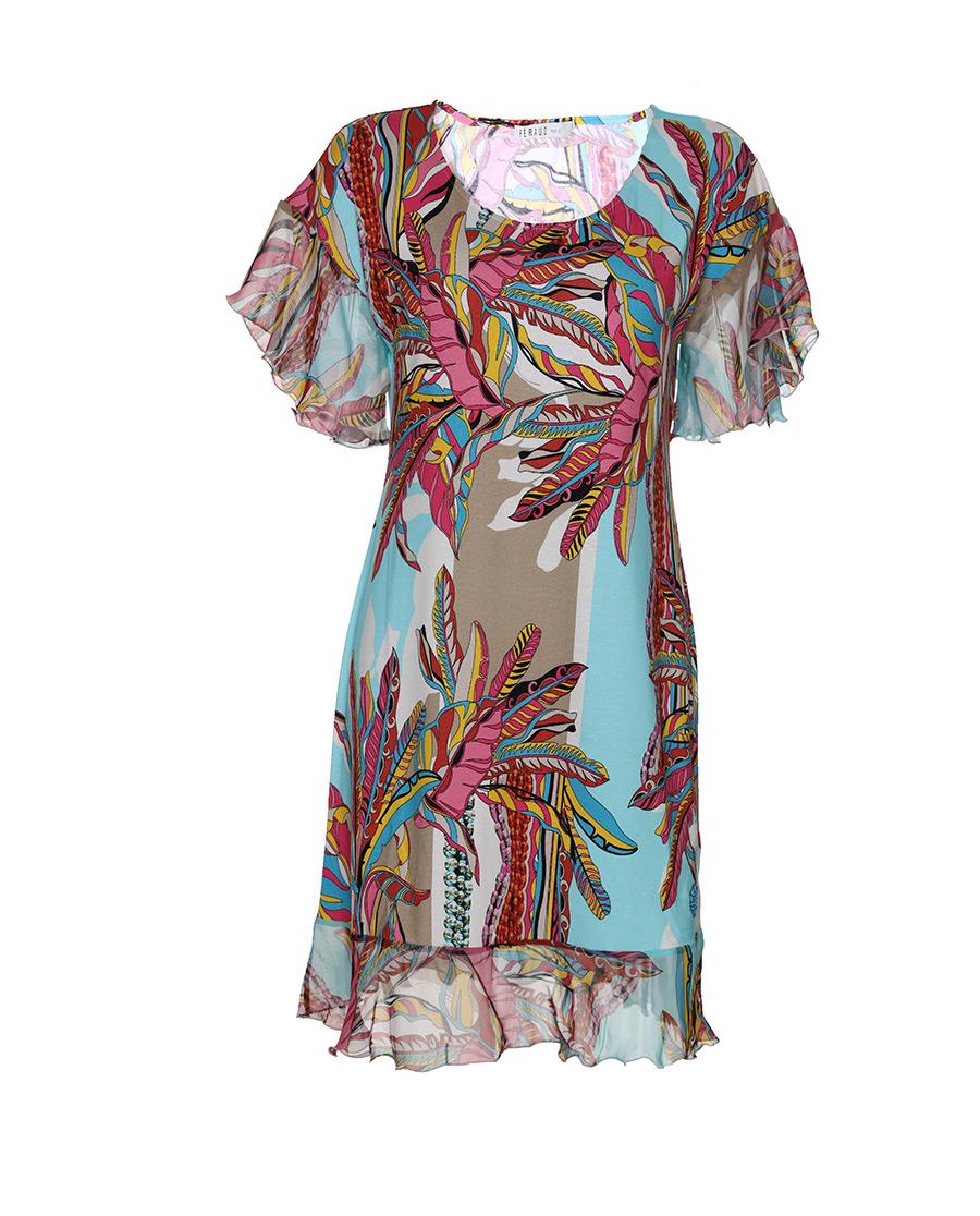 FERAUD睡衣|花園漫步系列短袖睡裙
