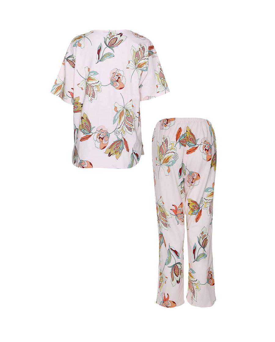 FERAUD睡衣|花園漫步系列短袖分身睡衣