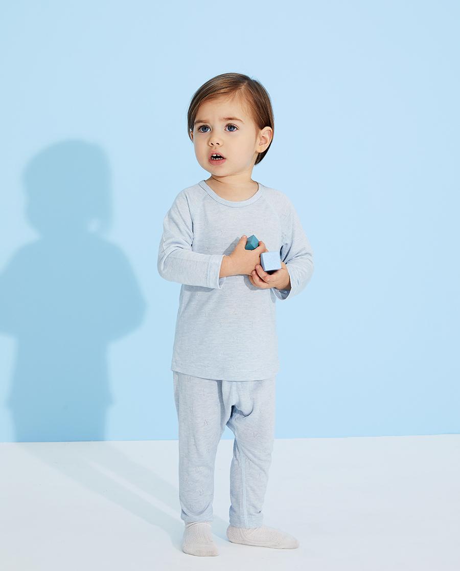 Aimer Baby睡衣|愛慕嬰兒植物涼爽男嬰幼大屁屁睡褲AB24