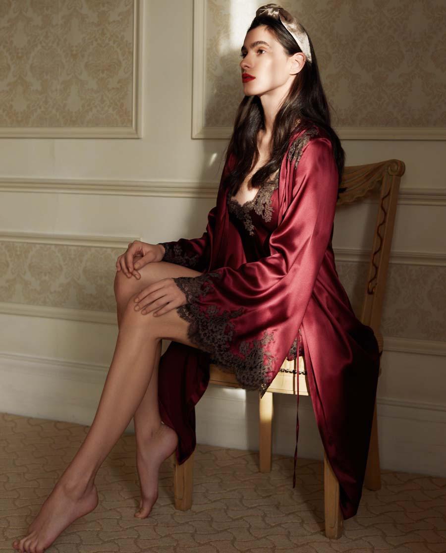 I.D.Sarrieri睡衣|夢幻蓋茨比系列真絲吊裙IDL4840