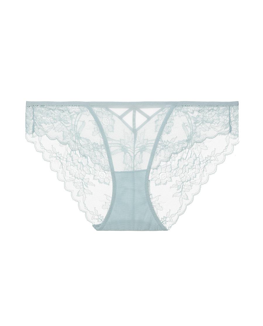 Aimer内裤|爱慕在线-蕾丝映像低腰平角裤AM2340