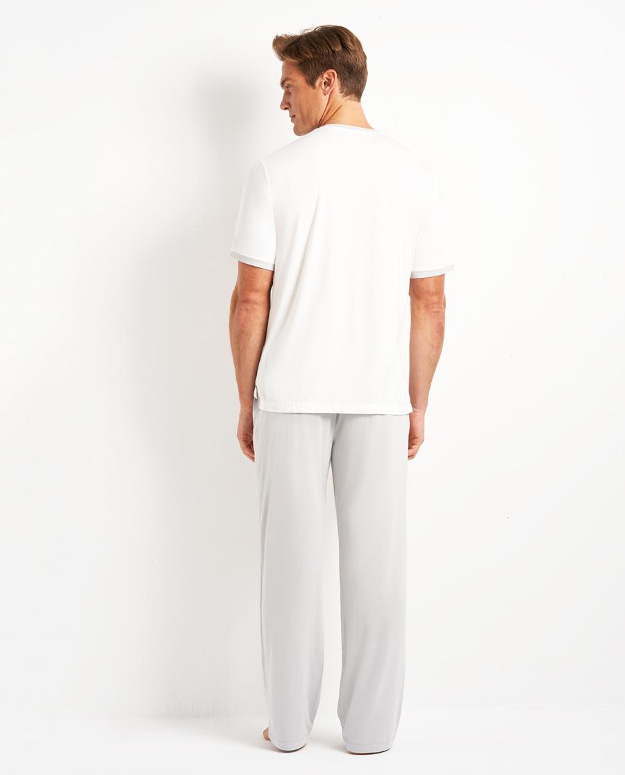 Aimer Men睡衣|愛慕先生靜享夏日長褲NS42D801