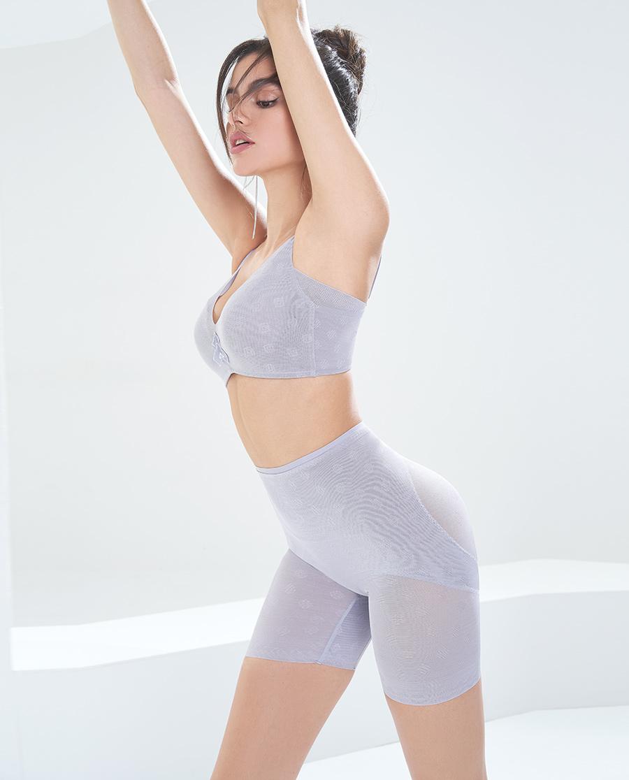 MODELAB美体|爱慕慕澜清凉美塑高腰短腿塑裤AD33G3