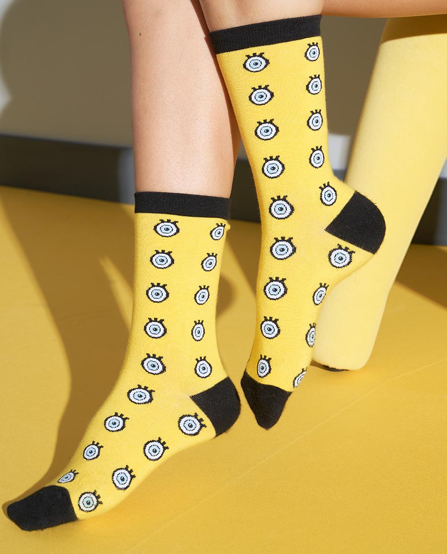 IMIS襪子|愛美麗海綿寶寶大系列襪子兩聯包IM94A
