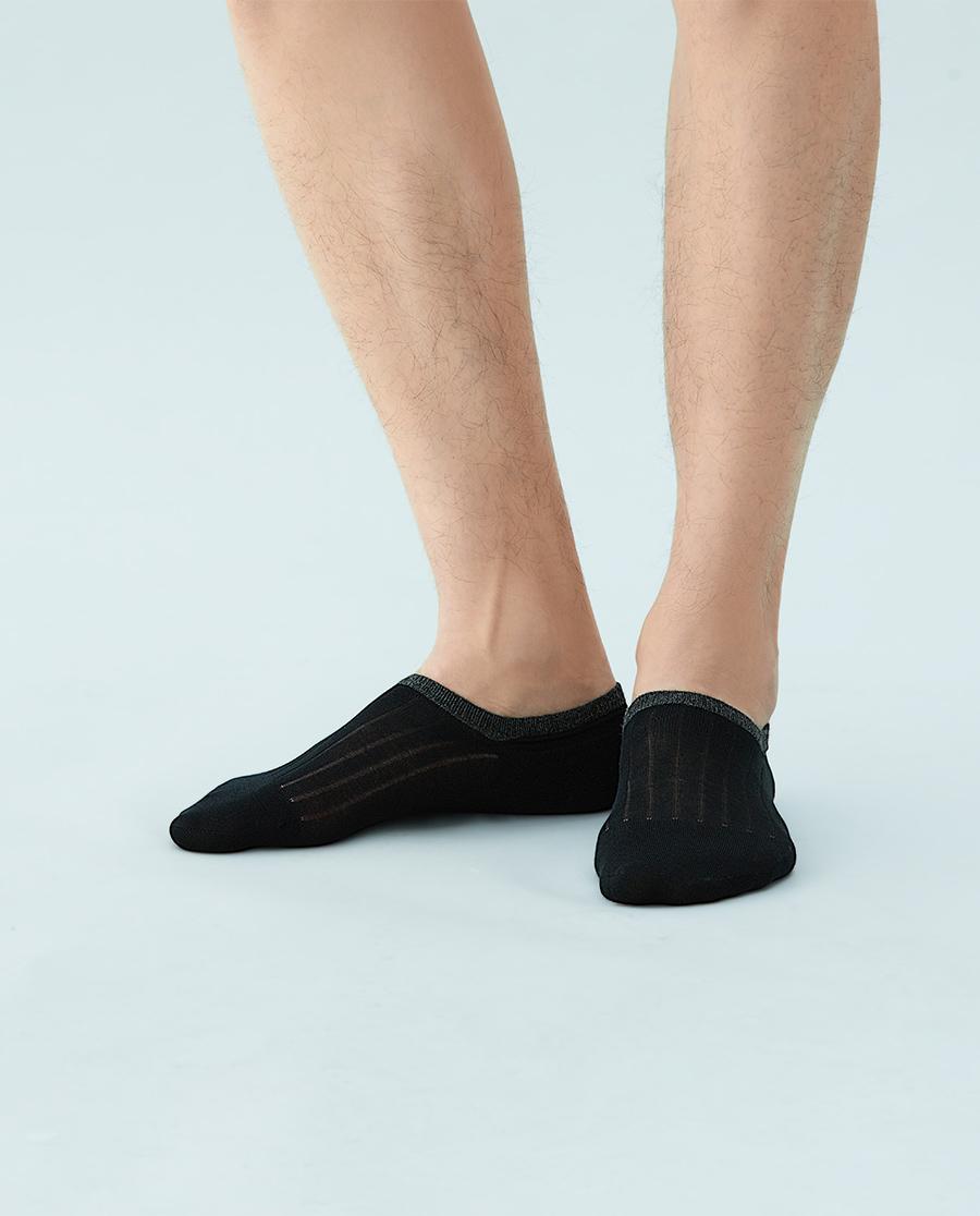 JOURVA袜子|足哇舒适浅口棉质撞色男士船袜JV2110