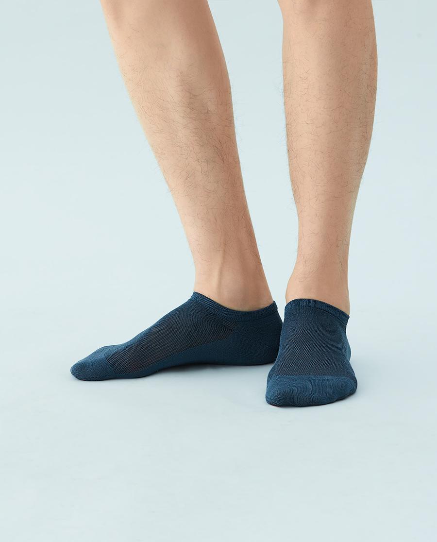 JOURVA襪子|足哇舒適淺口冰芙美男士船襪JV21106