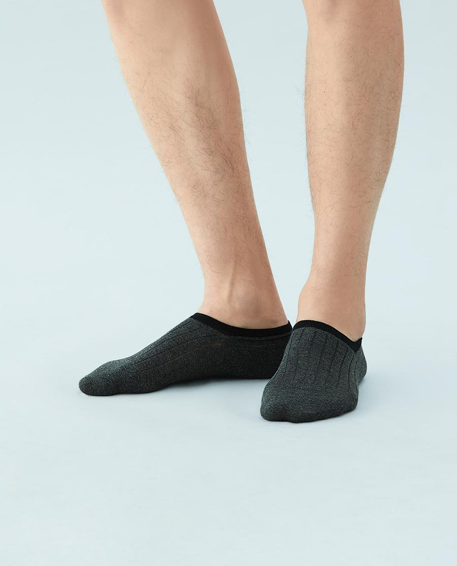 JOURVA襪子|足哇舒適淺口棉質撞色男士船襪JV2110