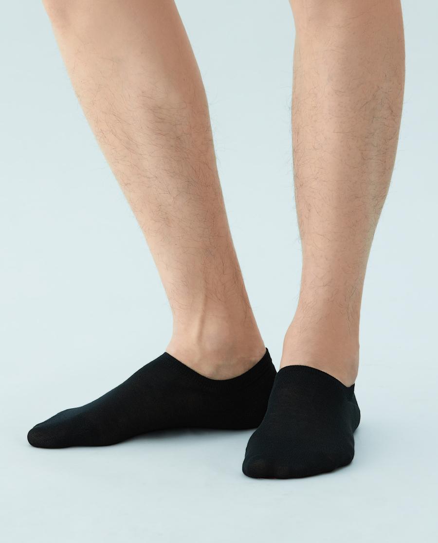 JOURVA襪子|足哇隨心舒適萊賽爾真絲男士船襪JV211