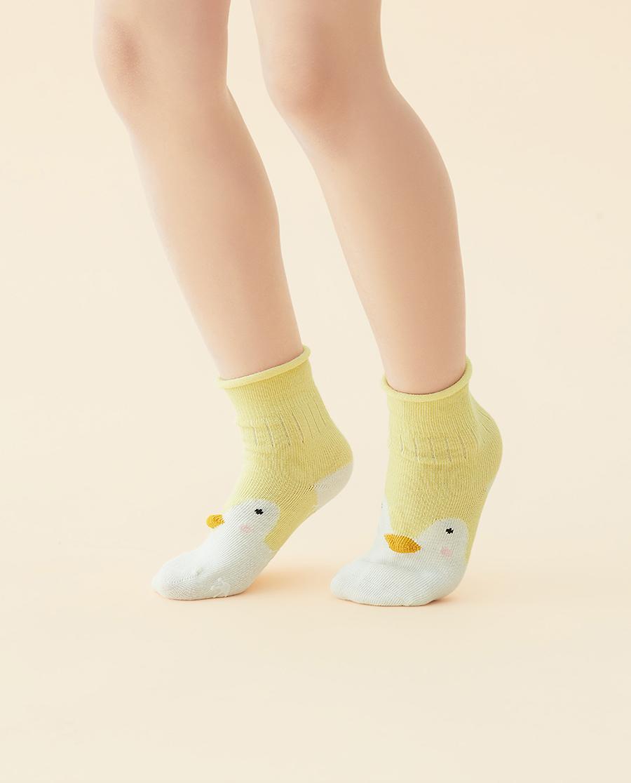 JOURVA袜子|足哇开心企鹅婴儿地板袜JV5110561