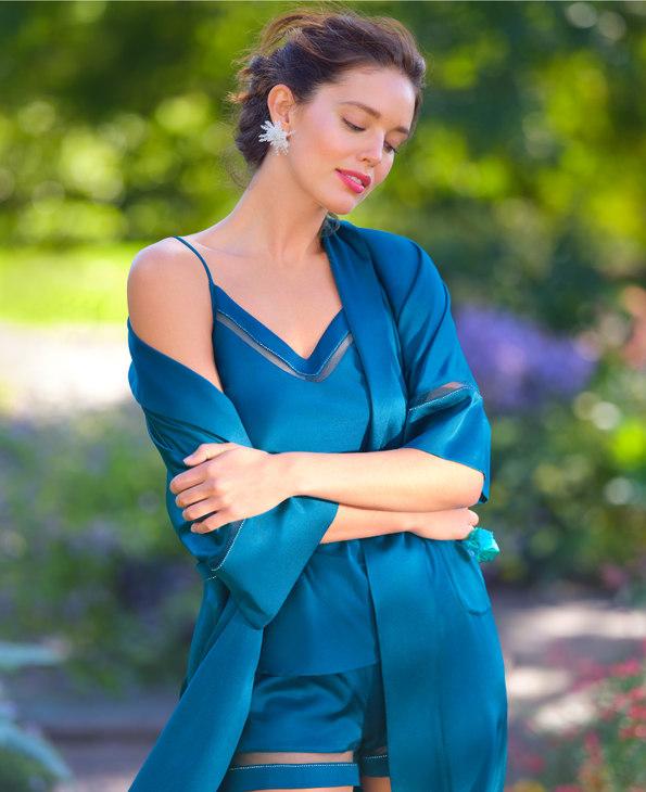 La Clover睡衣|蘭卡文星語星愿系列真絲吊帶衫LC41MJ1