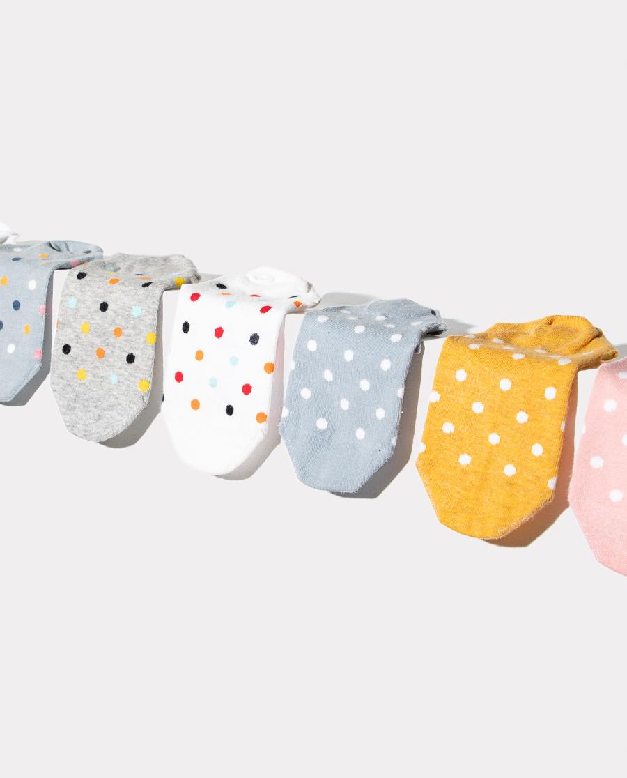 HUXI袜子|乎兮【3双装】纯棉隐形女士船袜HX942