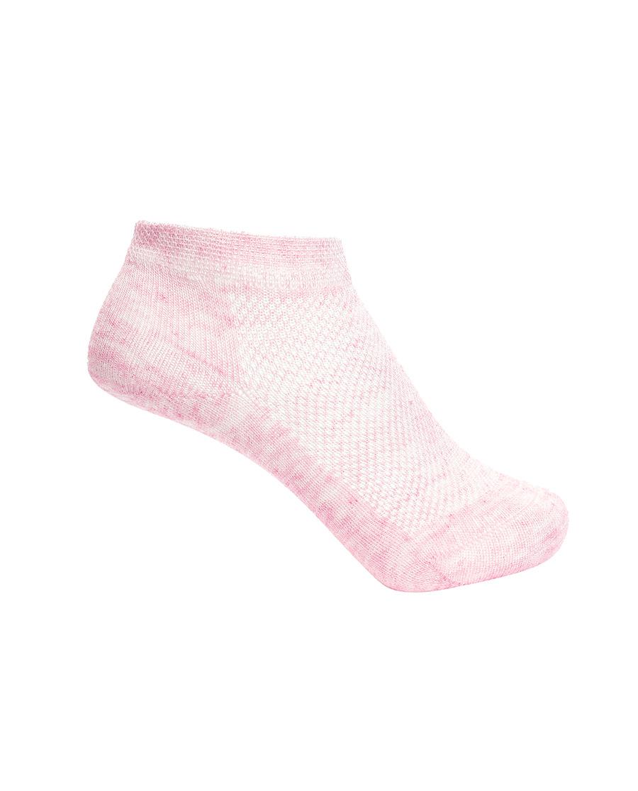 Aimer Kids襪子|愛慕兒童襪子女孩植物色網眼短襪AK194