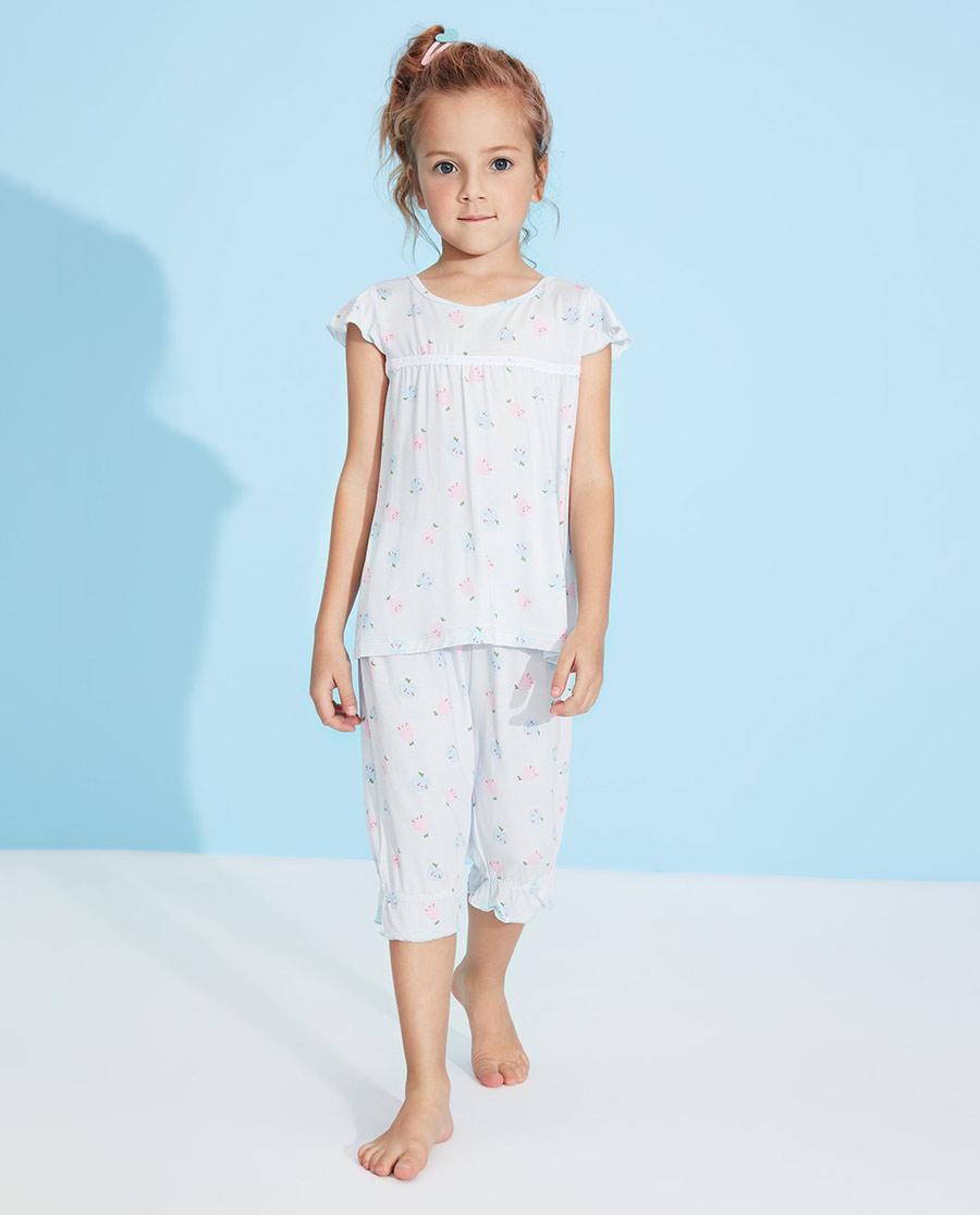 Aimer Kids睡衣|愛慕兒童果香物語女孩套頭短袖睡衣AK14