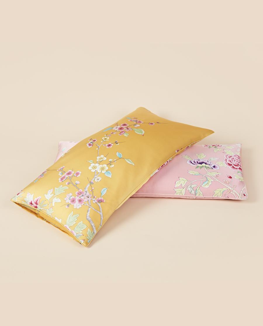 EMPERORIENT配飾 皇錦真絲印花美容蕎麥枕-滿庭芳HJ115