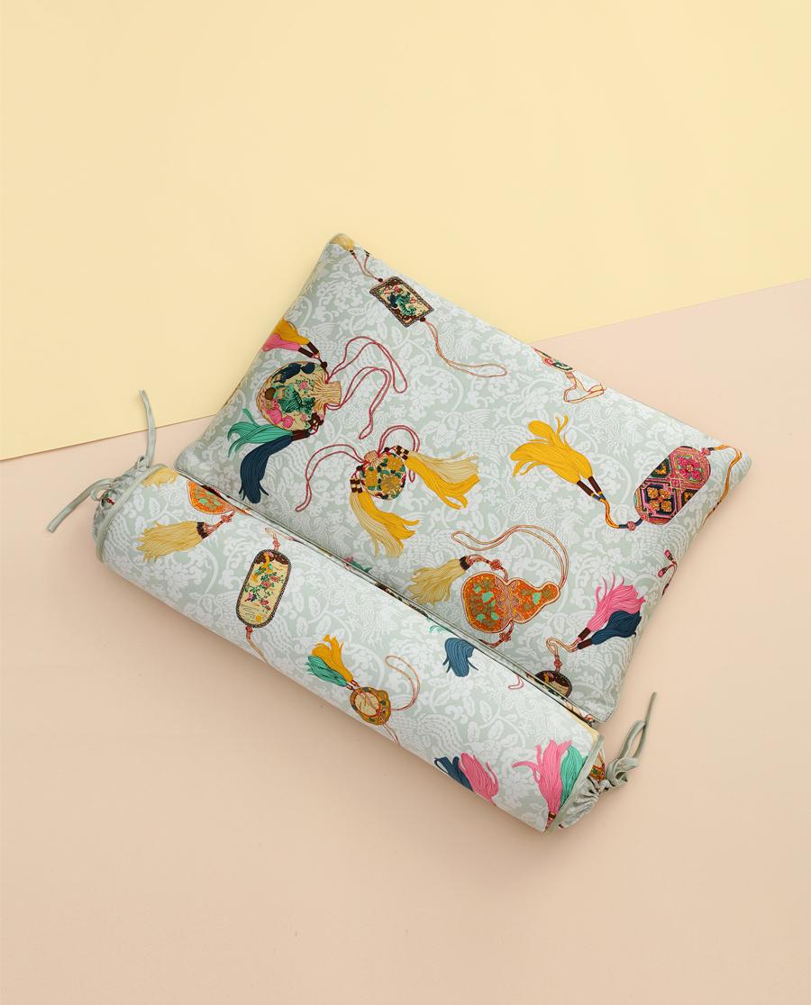 EMPERORIENT配飾|皇錦印花護頸枕HJ11557
