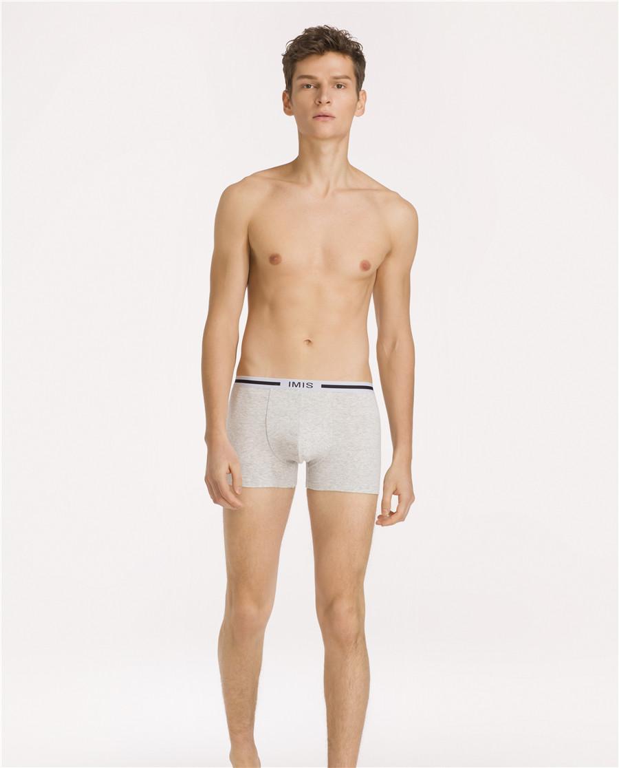 IMIS內褲|思想沖擊情侶內褲男式織帶中腰平角褲