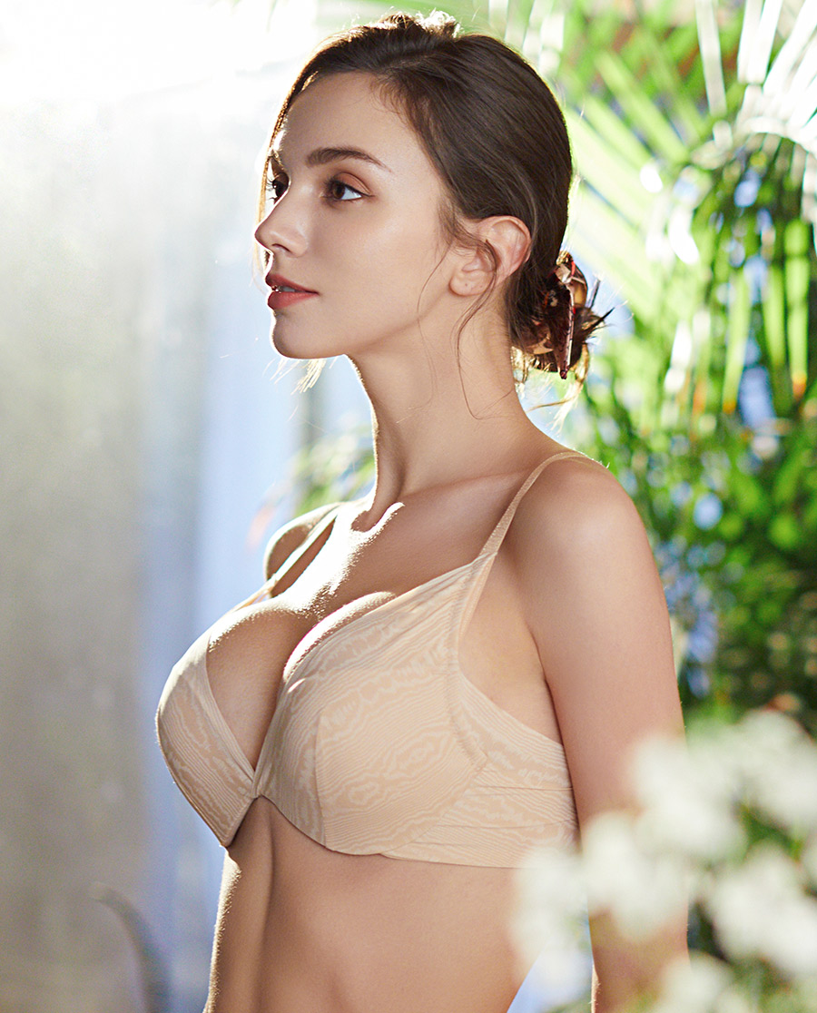 La Clover文胸|蘭卡文真水無香系列3/4模杯文胸LC11