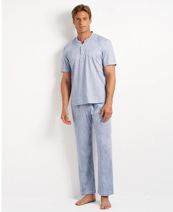 Aimer Men睡衣|爱慕先生舒爽棉麻长裤NS42D751