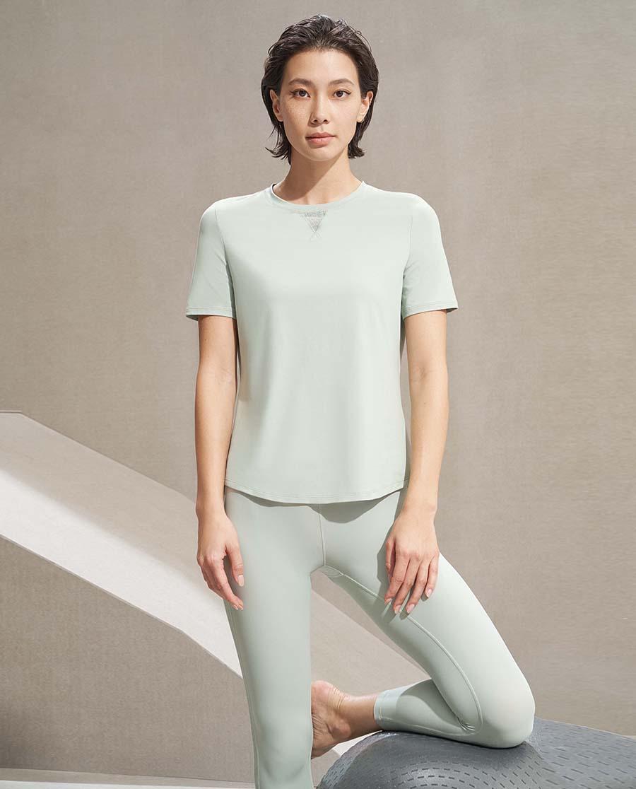 Aimer Sports运动装| 爱慕运动舒展瑜伽II瑜伽七分裤AS152K31