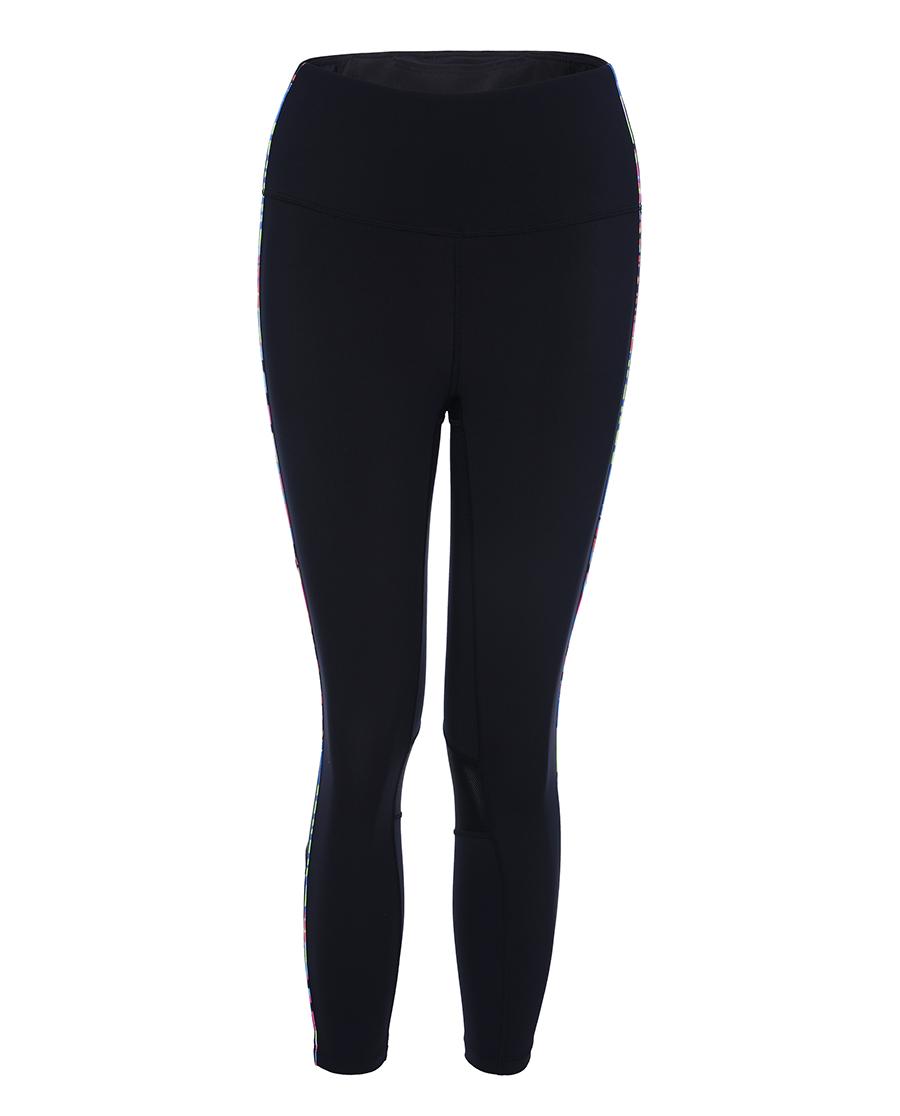 Aimer Sports运动装|爱慕运动炫彩活力跑步七分裤AS152K4