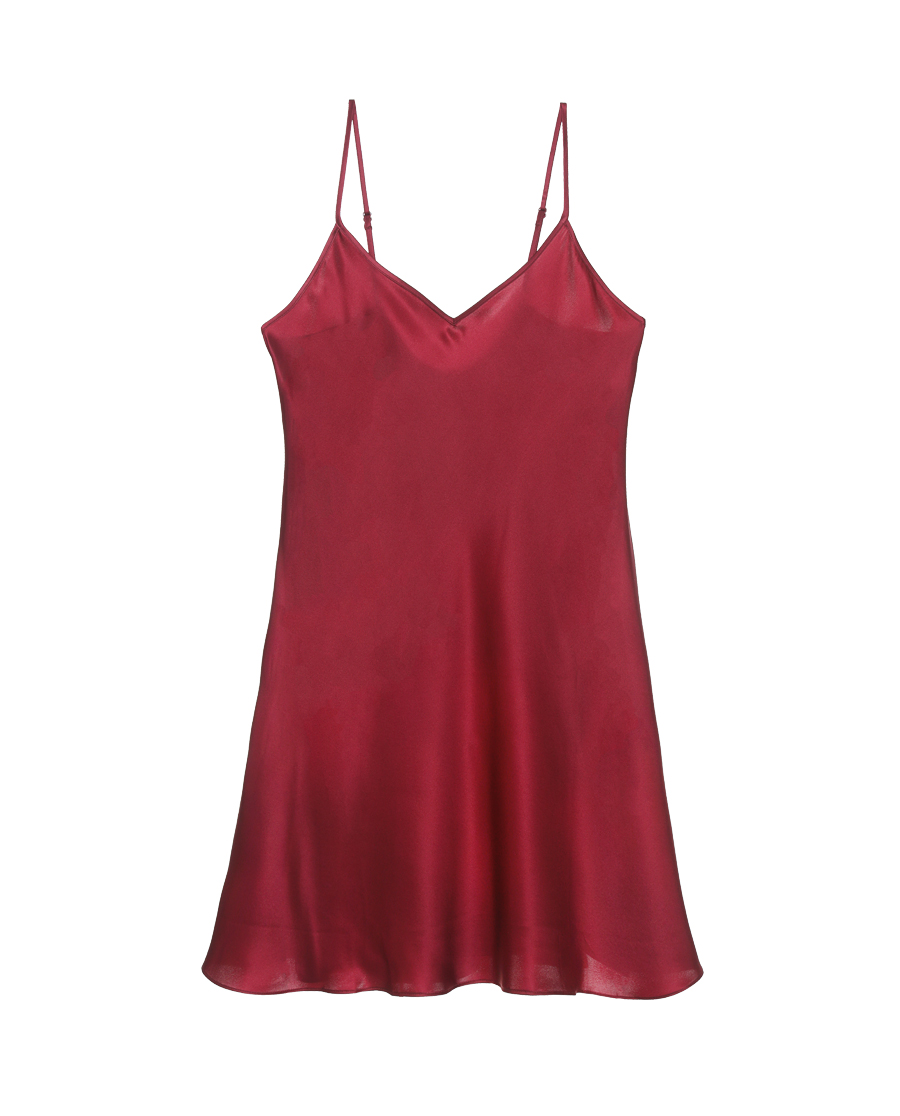 EMPERORIENT睡衣|皇錦素色吊帶裙HJ21225