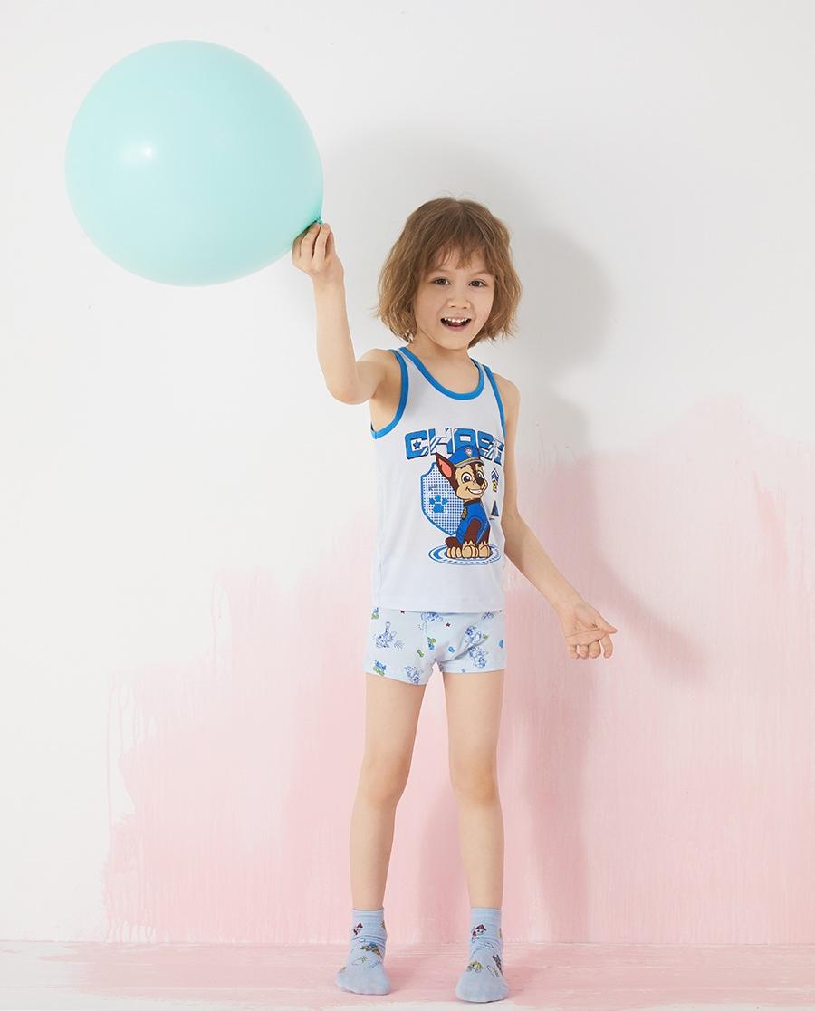 Aimer Kids內褲|愛慕兒童天使小褲棉氨綸汪汪隊男孩線描狗組
